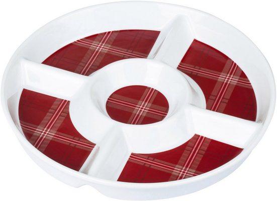 Retsch Arzberg Dipschale »Highland Red«, Porzellan, Ø 30 cm