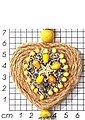 J.Jayz Kette mit Anhänger »romantisches Herz trifft auf maritimen Seestern, mit Quasten-Behang«, mit Natursteinen, Holz- und Glasperlen, Bild 2