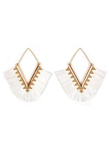 J.Jayz Paar Ohrhänger »im geometrischen Design«