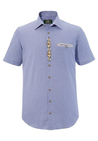 OS-TRACHTEN Tautinio stiliaus marškiniai su dezent...