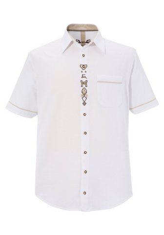 OS-TRACHTEN Tautinio stiliaus marškiniai in lino i...