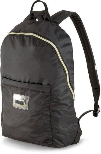 PUMA Sportrucksack »WMN Core Seasonal Daypack Backpack«, Kontrastdetails