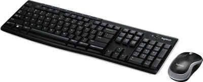 Logitech »Wireless Combo MK270« Tastatur- und Maus-Set