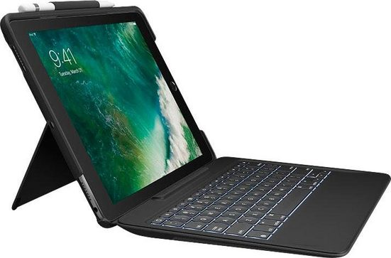 Logitech »Slim Combo« Tablet-Tastatur (iPad Pro 12,9)