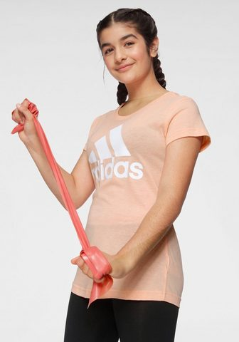 ADIDAS PERFORMANCE Marškinėliai »YOUNG GIRL MUST HAVE BAT...