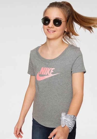 Nike Sportswear T Shirt »GIRLS NIKE SPORTSWEAR TEE SCOOP FUTURA«