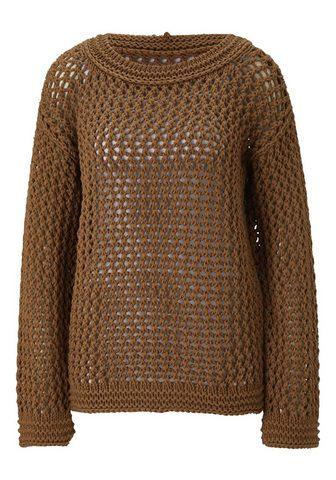 HEINE TIMELESS megztinis in Häkeloptik