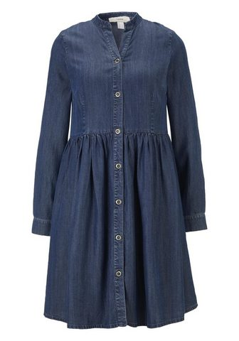 CASUAL платье джинсовое с воротник сто...