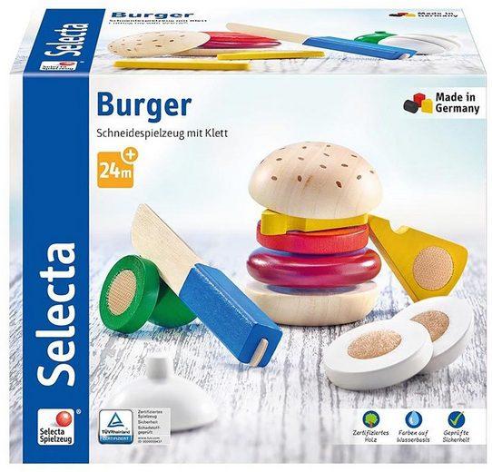 Selecta Spiellebensmittel »Burger, 12 Teile«, (12-tlg)