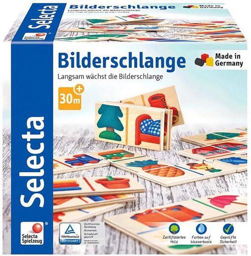Selecta Spiel, »Bilderschlange«, aus Holz, Made in Germany
