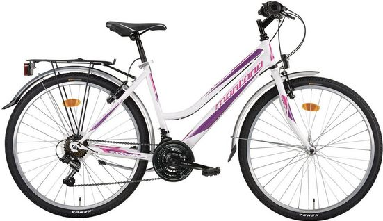 "Montana Fahrräder Cityrad »ESCAPE 26"" CTB«, 21 Gang Shimano TY-21 Schaltwerk, Kettenschaltung"
