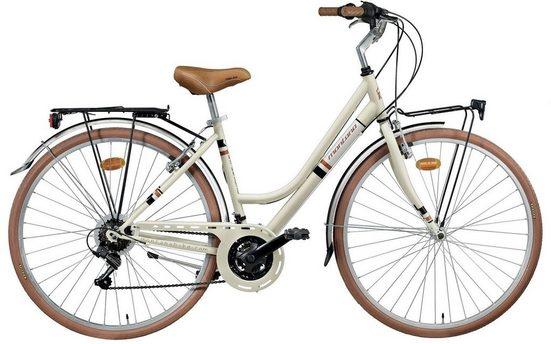 Montana Fahrräder Cityrad »STREETLAND 329«, 21 Gang Shimano TY-21 Schaltwerk, Kettenschaltung