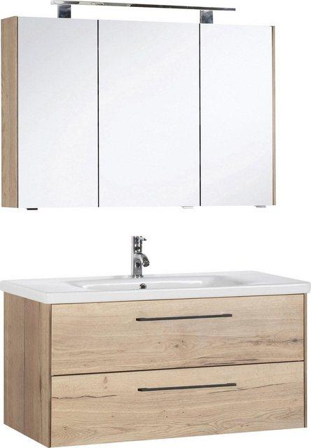 Badezimmer Sets - MARLIN Badmöbel Set »3400«, (Set, 2 tlg), Breite 100 cm  - Onlineshop OTTO