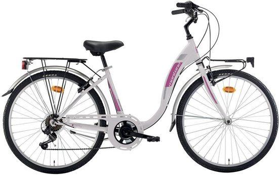 Montana Fahrräder Cityrad »LIBERTY«, 7 Gang