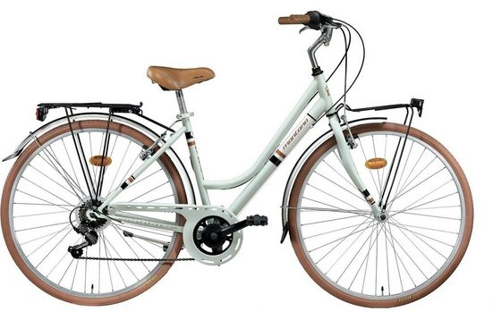 Montana Fahrräder Cityrad »STREETLAND 328«, 7 Gang Shimano TY-21 Schaltwerk, Kettenschaltung