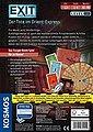 Kosmos Spiel, »Exit, Der Tote im Orient-Express«, Made in Germany, Bild 2