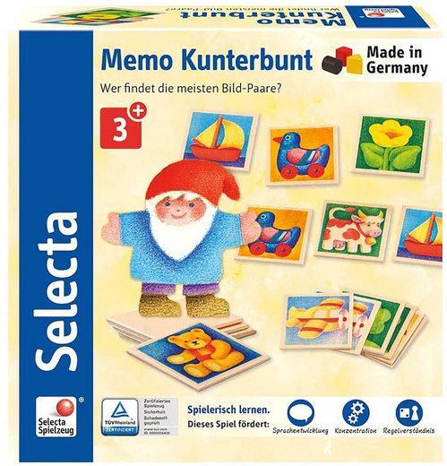Selecta Spiel, »Memo Kunterbunt«