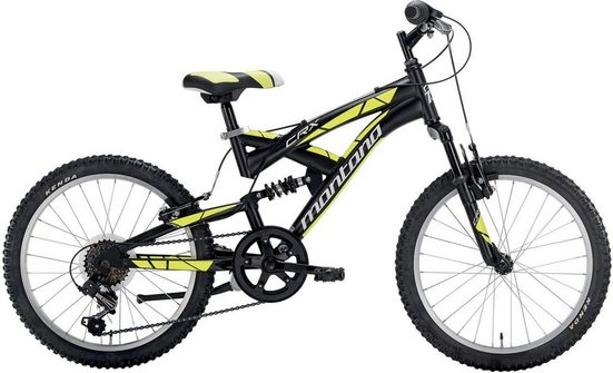 Montana Fahrräder Mountainbike »CRX S1020«, 6 Gang Shimano TY-21 Schaltwerk, Kettenschaltung