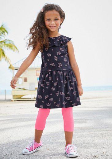 KIDSWORLD Jerseykleid mit niedlichem Blumenmuster