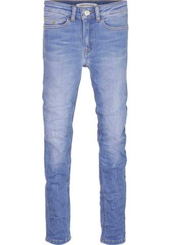 Calvin KLEIN джинсы узкие джинсы &raqu...