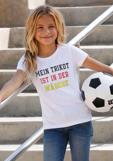 Arizona T-Shirt »Fußballshirt« mit Spruch