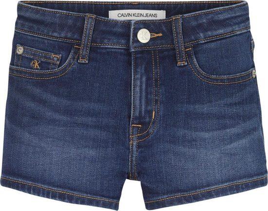 Calvin Klein Jeans Jeansshorts »STRAIGHT MR SHORT« in schöner Waschung