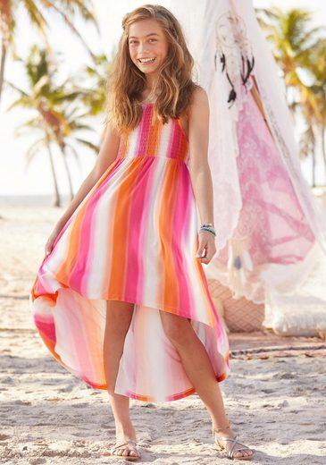 Arizona Vokuhila-Kleid mit Smokeinsatz