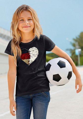 ARIZONA Футболка »Fußballshirt&laq...