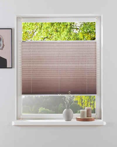 Plissee »DAHRA«, my home, Lichtschutz, ohne Bohren, verspannt, im Fixmaß, Crushed-Optik, über 2.600 positive Bewertungen