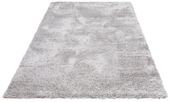 Hochflor-Teppich »Boldo«, my home, rechteckig, Höhe 50 mm, besonders weich durch Microfaser, Wohnzimmer