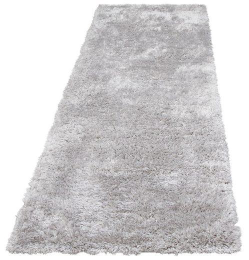 Hochflor-Läufer »Boldo«, my home, rechteckig, Höhe 50 mm, besonders weich durch Microfaser