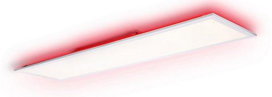 Brilliant Leuchten LED Panel »Allie«, dimmbar, Farbtemperatursteuerung, RGB Backlight, inkl. Fernsteuerung
