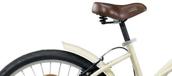 Montana Fahrräder Cruiser »WAVE«, 7 Gang Shimano TY-300 Schaltwerk, Kettenschaltung