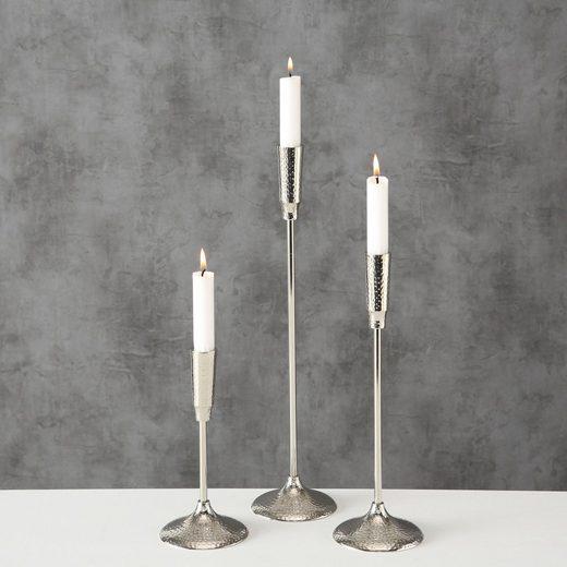 BOLTZE Kerzenhalter »Ludmille« (Set, 3 Stück)
