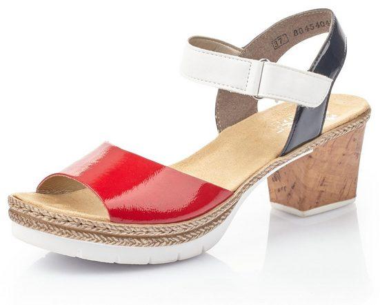 Rieker Sandalette mit modischer Farbkombi