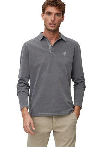 MARC O'POLO Polo marškinėliai ilgomis rankovėmis