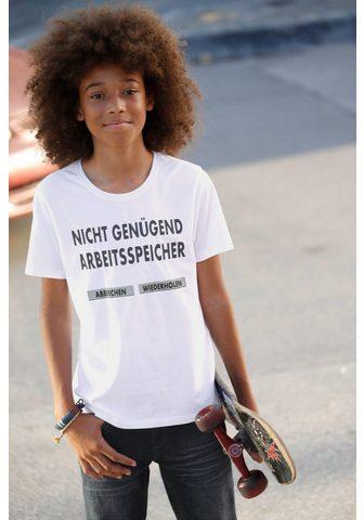 ARIZONA Marškinėliai »Nicht genügend Arbeitssp...