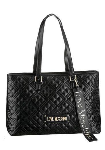 LOVE MOSCHINO Shopper, mit abnehmbarem Logo Anhänger