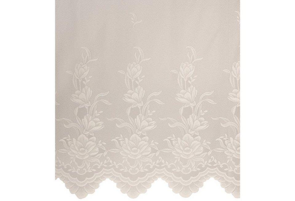 Gardine, Home Wohnideen, »Türnitz« (1 Stück) in weiß