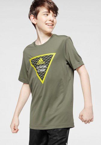 ADIDAS PERFORMANCE Marškinėliai »JOUTH BOY TRAINING TEE«