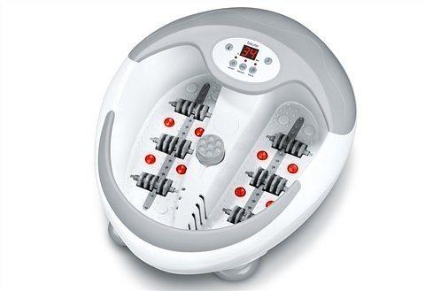 Beurer Relax-Fußbad FB 50, mit Magnetfeld- und Maniküreanwendung in weiß/grau