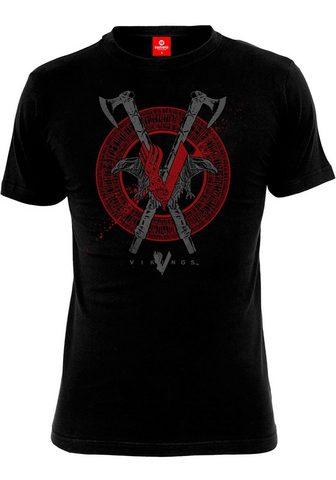 NASTROVJE POTSDAM Marškinėliai »Vikings Axe & Raven«