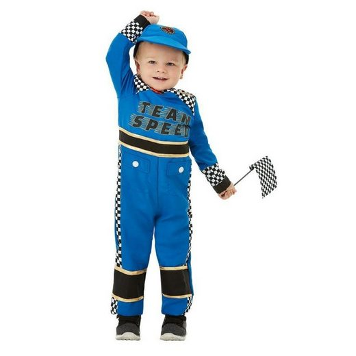 Mini Racing Rennfahrer Kostüm für Kinder