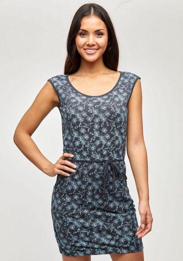 MAZINE Jerseykleid »PAULINA« mit Seitentaschen& silberfarbenen Nähten
