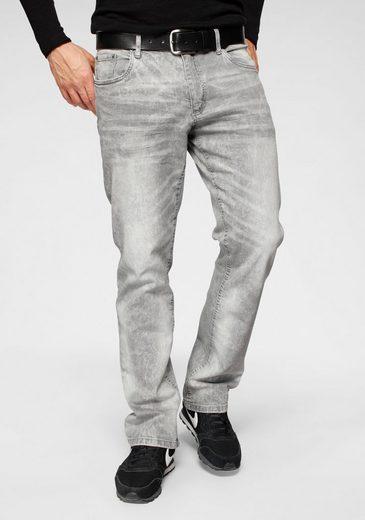 John Devin Straight-Jeans mit geradem Bein