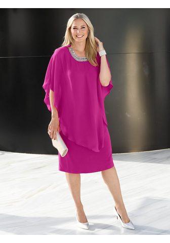 Платье с шифон Überzug