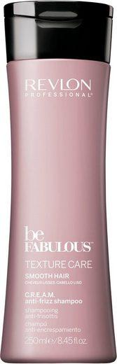 REVLON PROFESSIONAL Haarshampoo »Be Fabulous Texture Care Smooth Shampoo«, glättet
