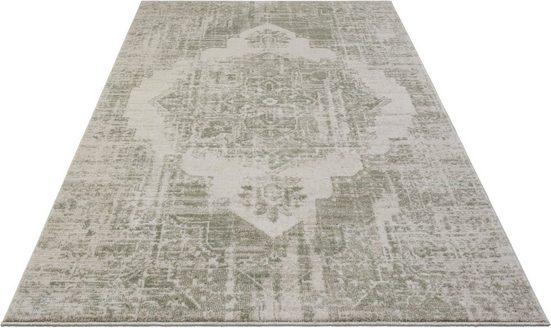 Teppich »Garonne«, ELLE Decor, rechteckig, Höhe 11 mm, Kurzflor, besonders weich durch Microfaser