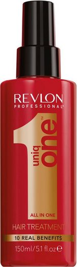 REVLON PROFESSIONAL Leave-in Pflege »Uniq One All in one Hair Treatment«, repariert volumengebend