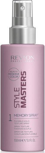 REVLON PROFESSIONAL Haarspray »Style Masters Memory Spray«, flexibler Halt